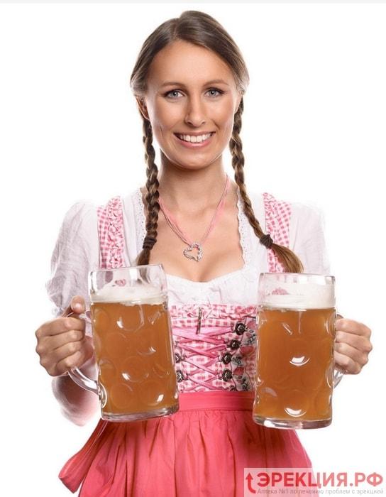 Влияет ли употребление пива на эрекцию