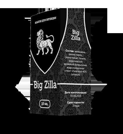 упаковка капель для потенции big zilla