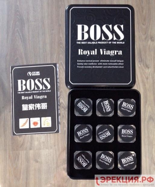 Фото Boss Royal Viagra (лицевая сторона)