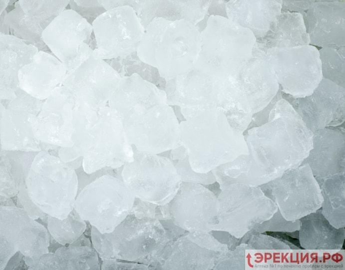 лед применяется при лечении мужской сексуальной дисфункции