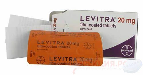 бренд Левитра