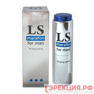 Фото спрея LS marafon for man