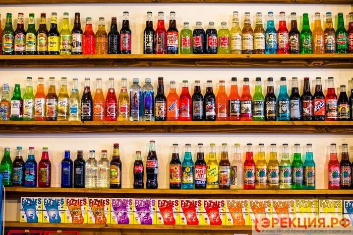 шипучие напитки враги мужского здоровья